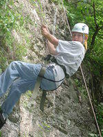 2006/08 - Rapelling/Climbing @ Backbone State Park, Iowa