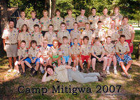 2007/07 - Troop 275 Summer Camp @ Camp Mitigwa