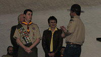 2010/02 - Zach Strah Eagle Ceremony